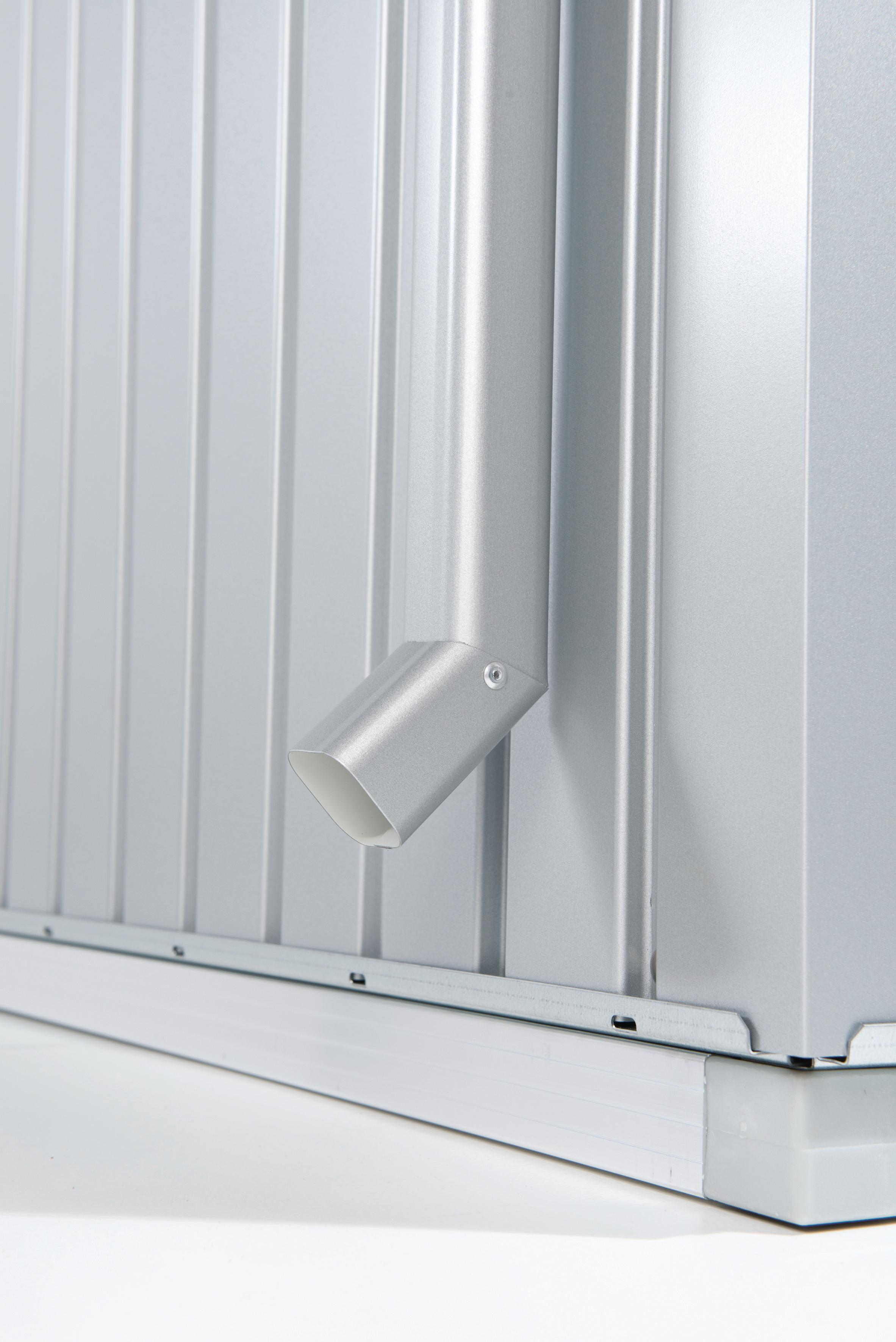 Biohort Regenfallrohr-Set für HighLine® Gerätehaus
